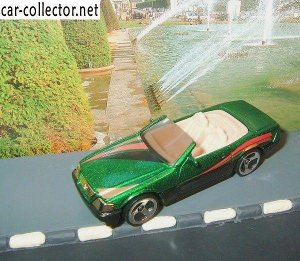mercedes 500 sl convertible collector 815 1998