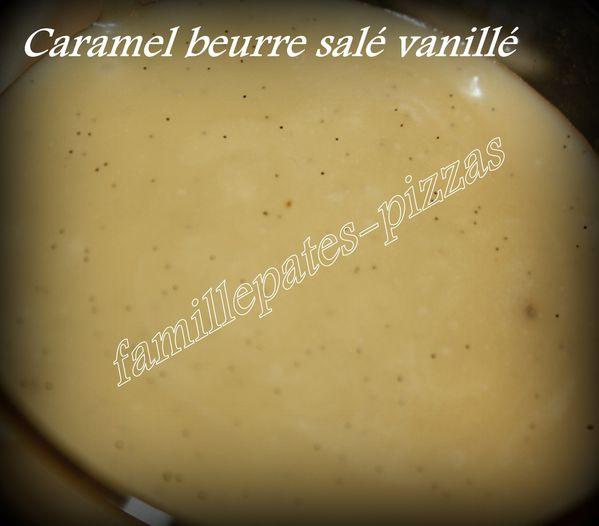 caramel beurre salé vanillé