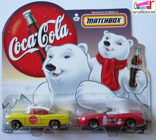 chevy bel air coca cola camaro convertible coke matchbox (2