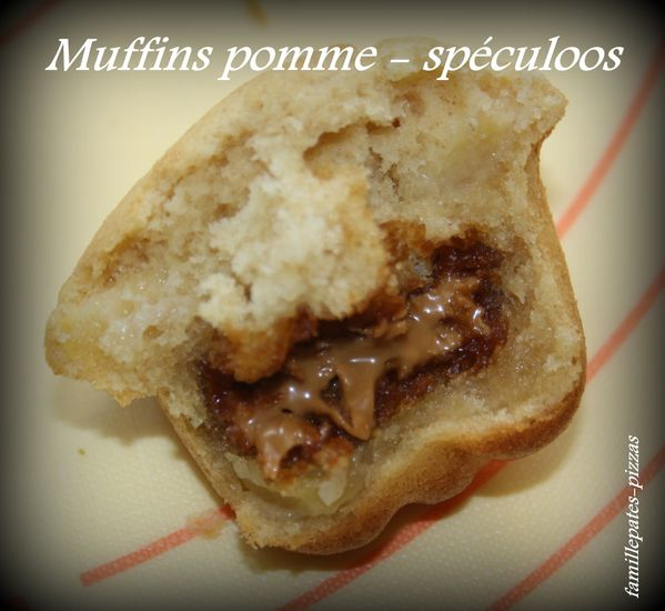 muffins pomme-speculoos 3