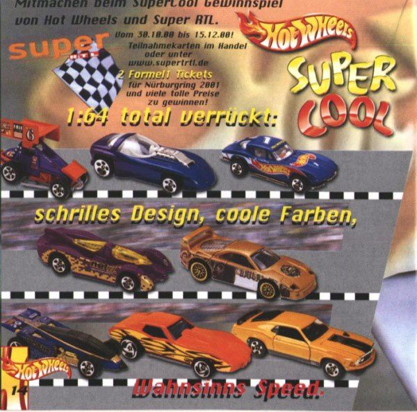 catalogue matchbox 2000 a14 katalog hot wheels 2000