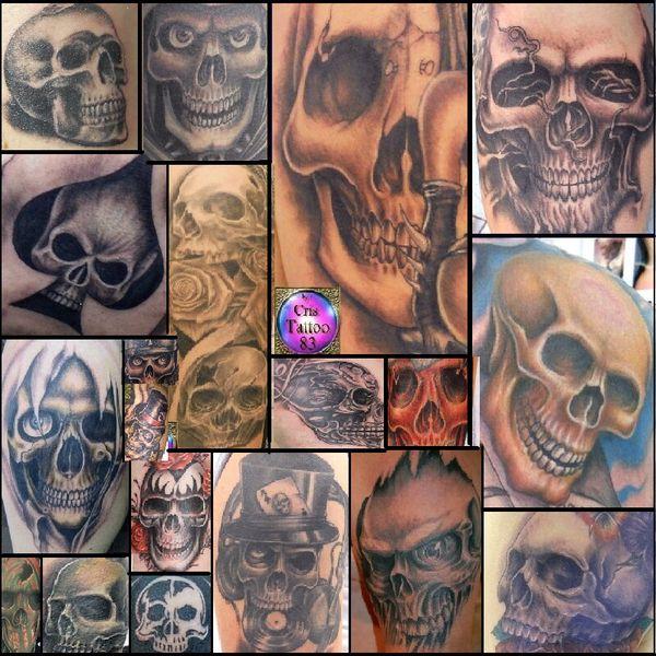 Skulls by Cris Tattoo 83