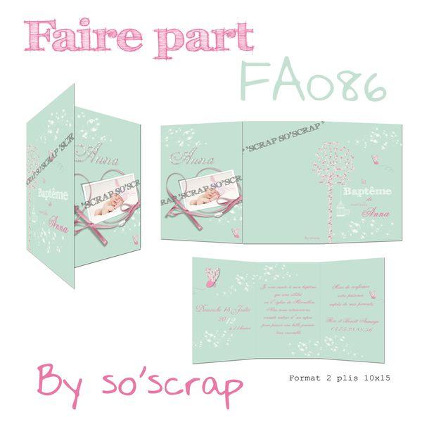 faire-part FA086