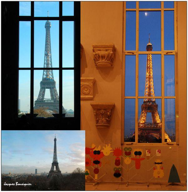 Paris tour cite architecure