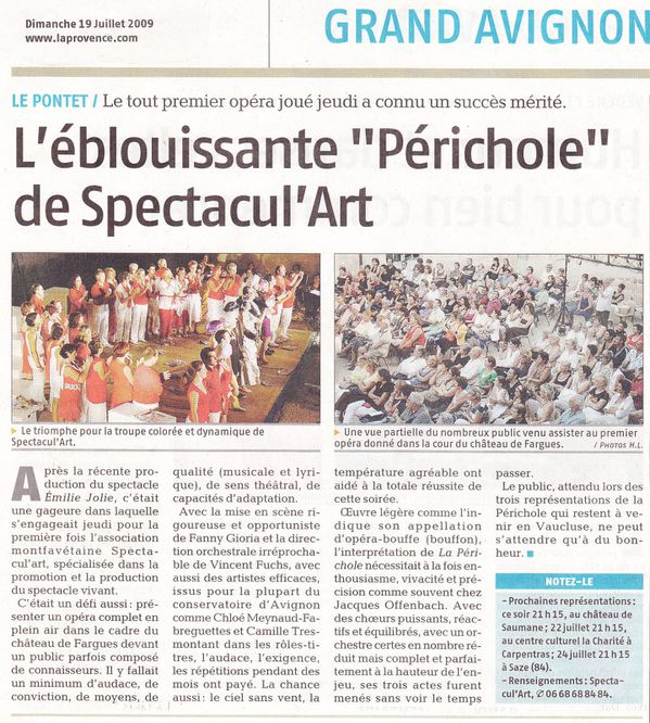 article la périchole