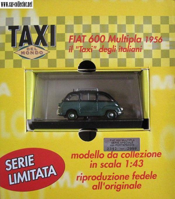 fiat 600 multipla 1956 taxi limited edition brumm de agos