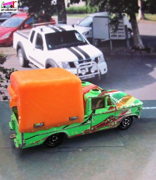 dodge-pickup-safari-majorette-bache-orange