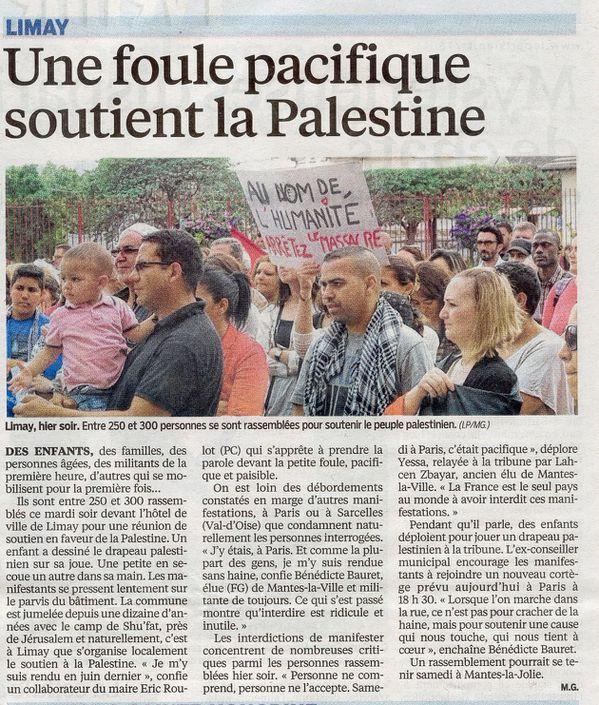 Le Parisien Palestine