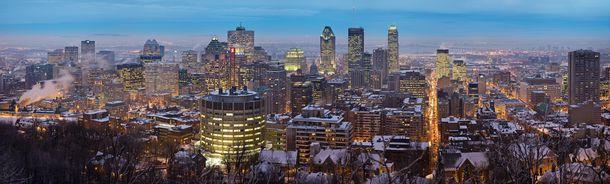 Montreal Twilight Panorama 2006