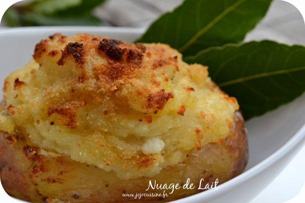 pomme de terre beurre de laurier féta