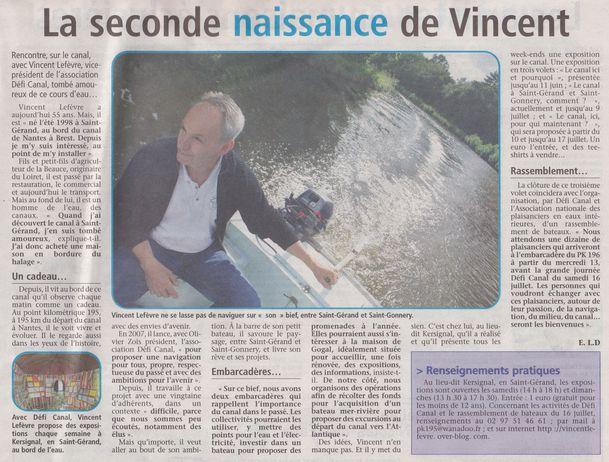 Canal de Nantes à Brest - Bicentenaire - Defi CANAL - Pont