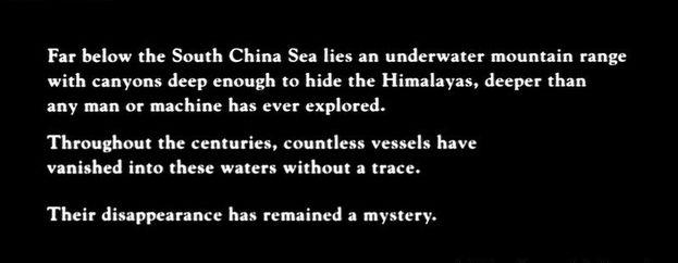 Un cri dans l'océan - texte