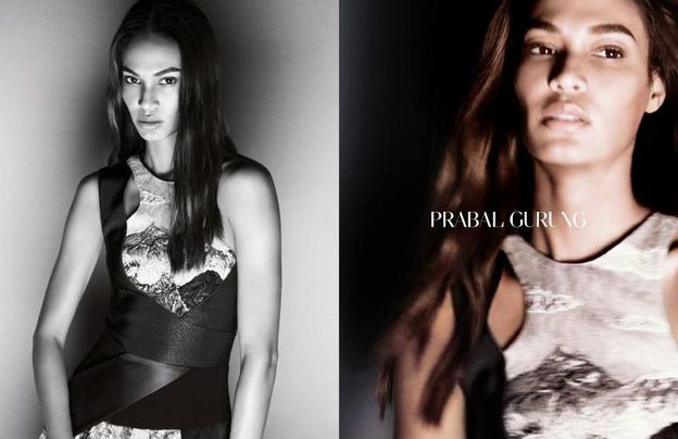 PRABAL GURUNG - SPRING SUMMER 2015 AD CAMPAIGN ON -copie-2