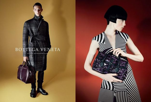 BOTTEGA VENETA - FALLWINTER 2014 AD CAMPAIGN BY DAVID SIMS
