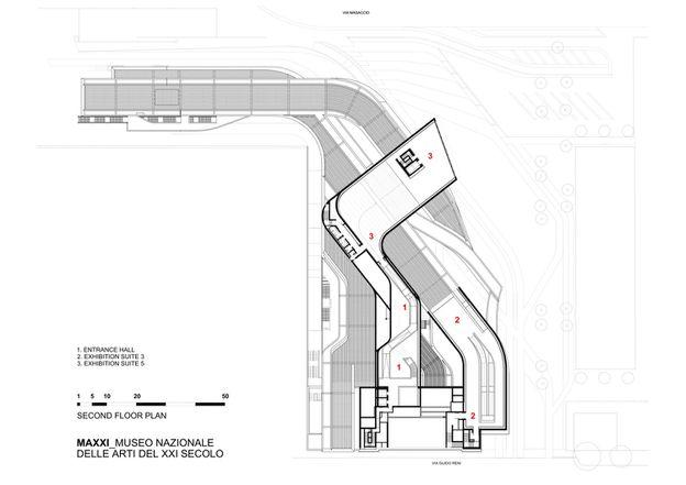 MAXXI MuseumZaha Hadid Architects21