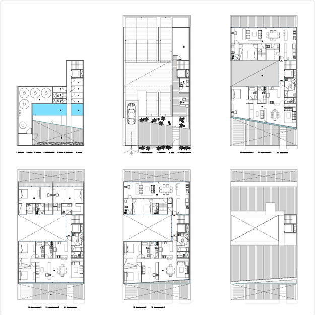 CB71 plans by La Proyectería architects 5