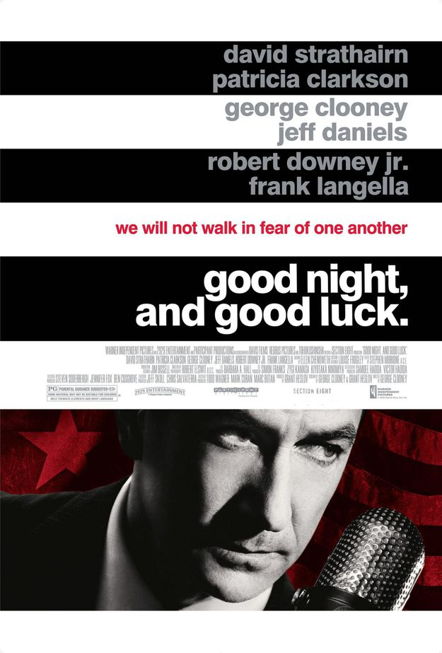 Good Night and Good Luck - affiche