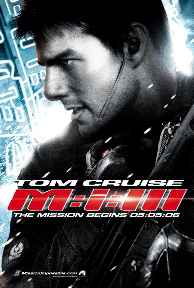 Mission impossible 3 - affiche