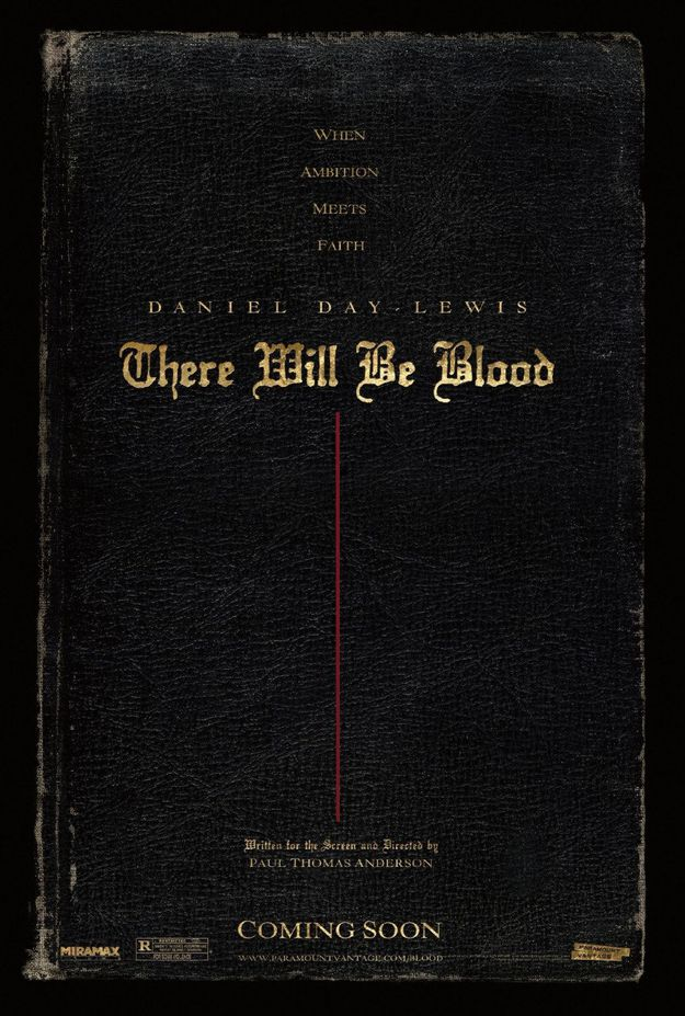 There Will Be Blood - affiche