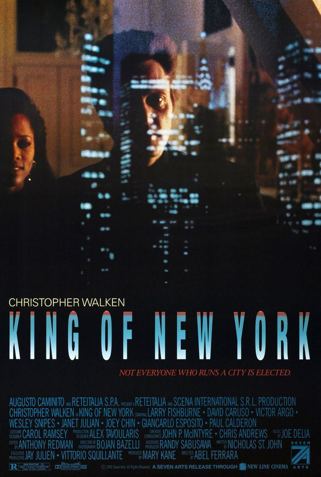 The King of New York - affiche