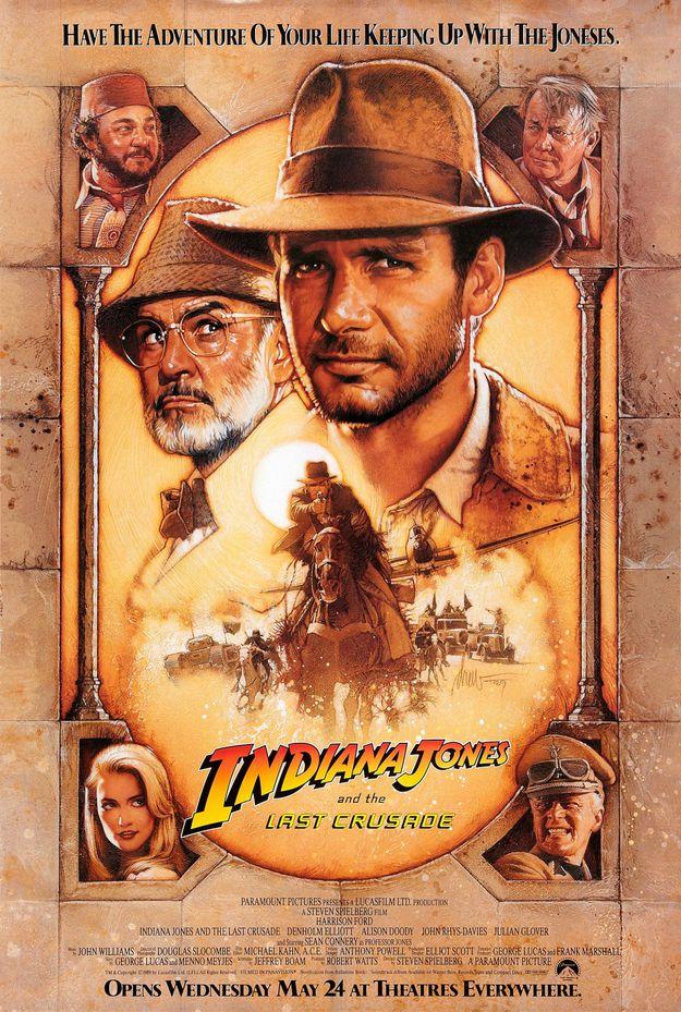 Indiana Jones et la dernière croisade - affiche