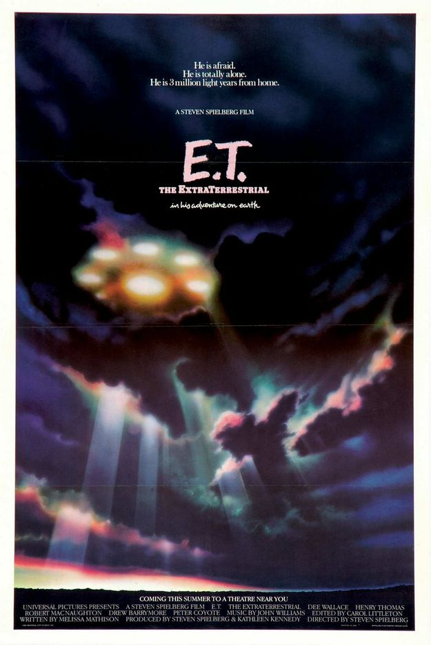 E.T. l'extra-terrestre - affiche