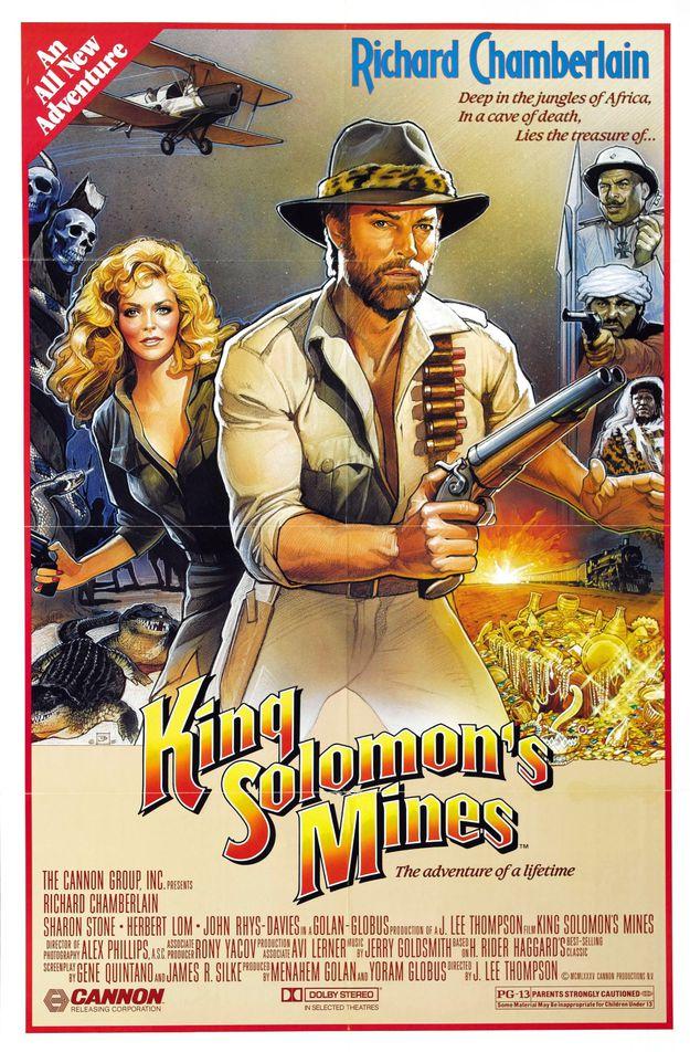 Allan Quatermain et les mines du roi Salomon - affiche