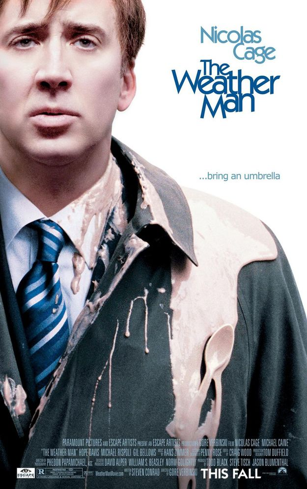 The Weather Man - affiche