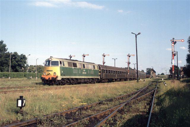 Train à Woltsztyn