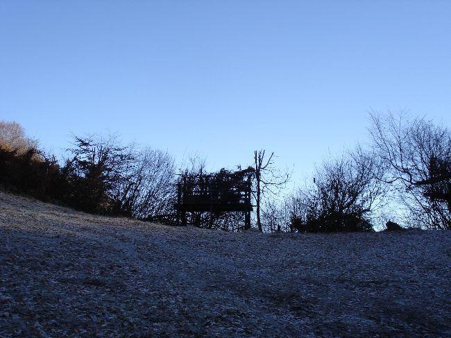 Vers le Pic du Gar : le col des Ares (797 m) 4