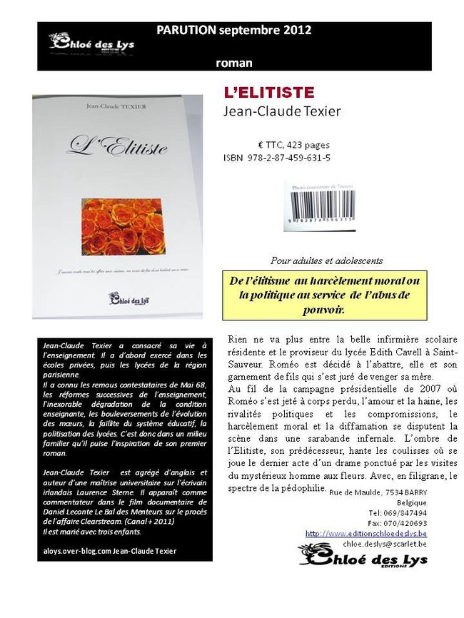 REFERENCEMENT FICHE texier