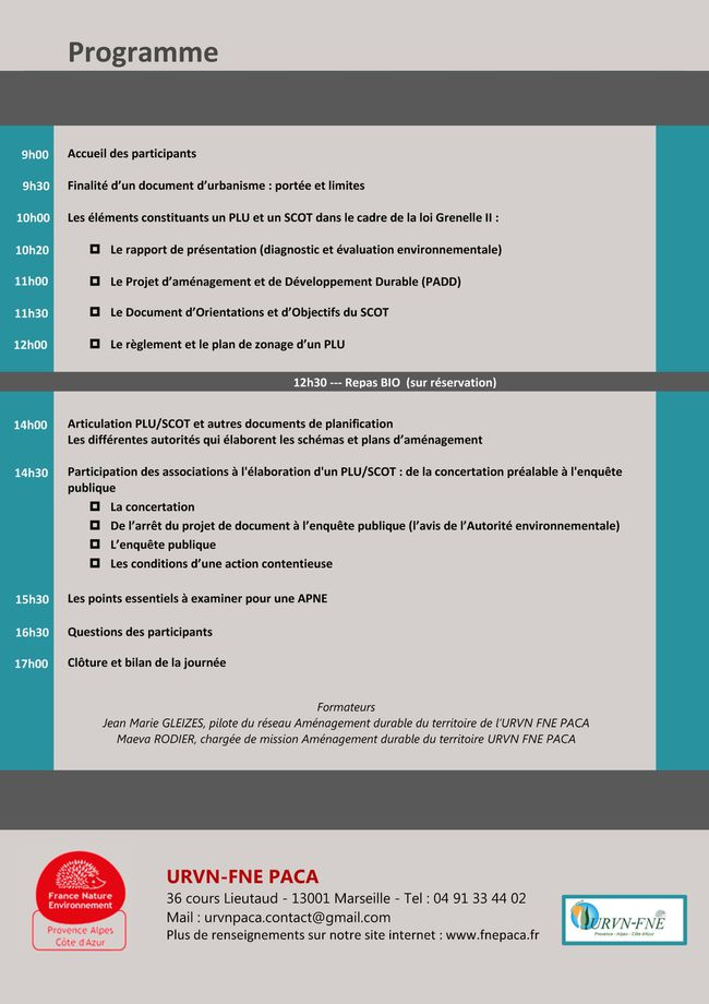 Programme formation 28 mars 2013 Page 2