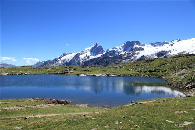 Plateau Emparis : lac Noir