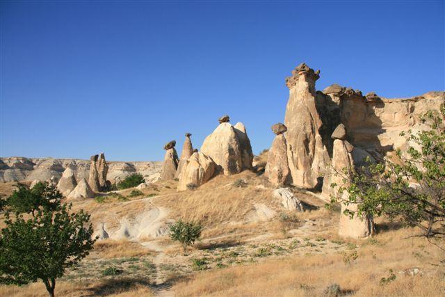 Cappadoce : cheminées de fée
