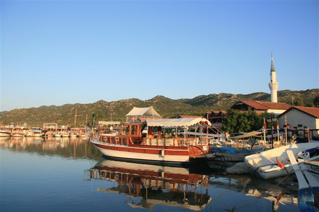 Lycie : port d'Uçagiz