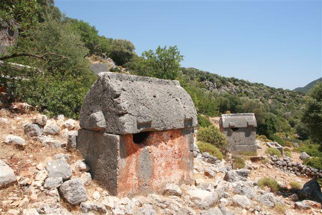 Turquie : site antique d'Aperlai
