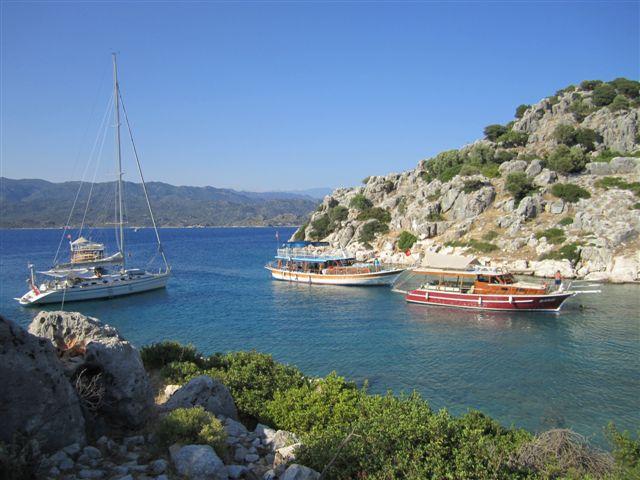 Lycie : crique de Tersané