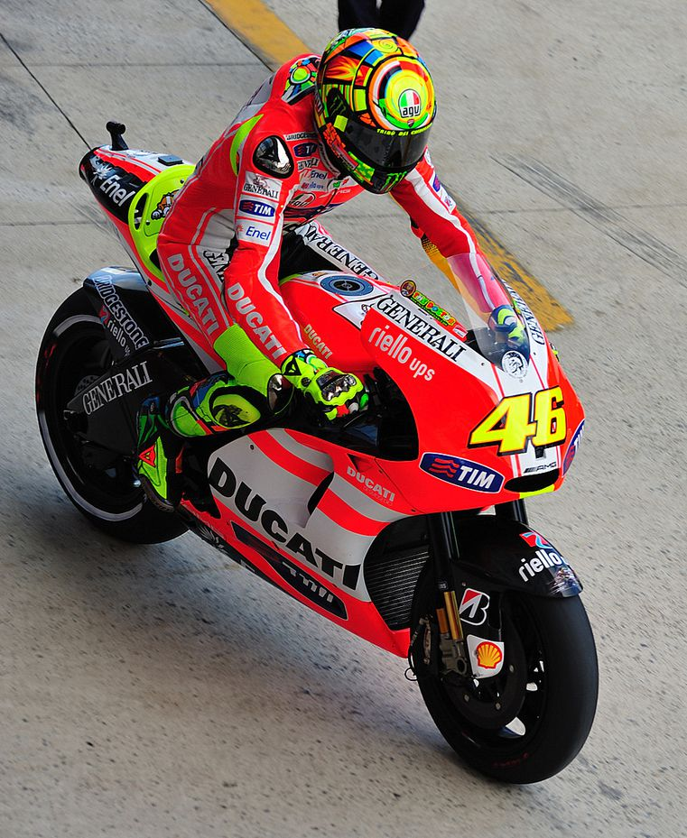 Warm up Rossi 04