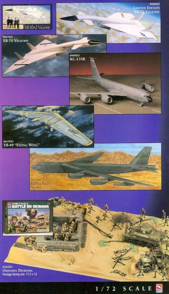 catalogue-ertl-1997-valkyrie-flying-wing-lake-battle-of-oki