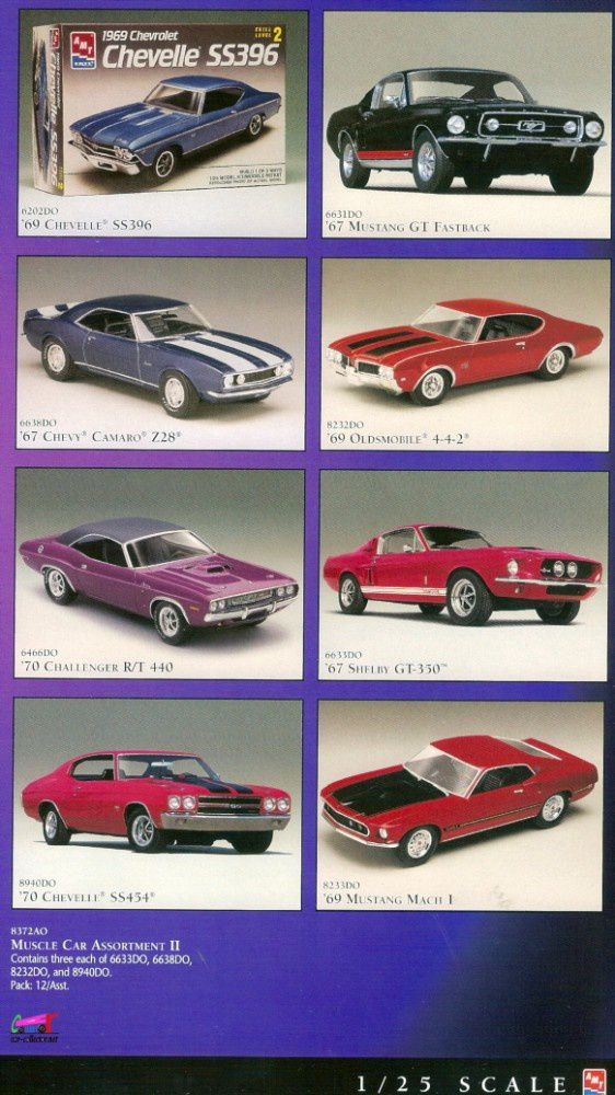 catalogue-ertl-1997-chevelle-oldsmobile-442-challenger-mach