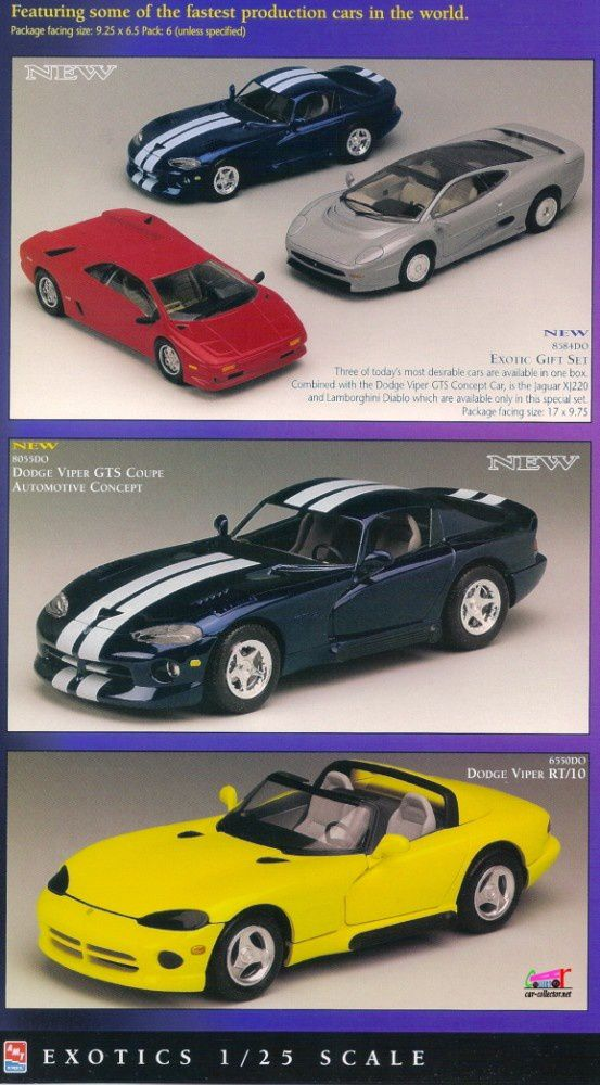 catalogue-ertl-1997-exotic-gift-set-viper