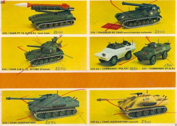 catalogue-solido-1973-p16-commando-police-char-jagdpanther-