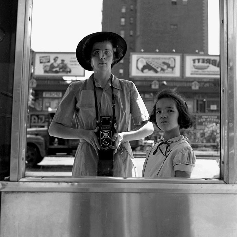 Vivian Maier Self-Portrait (16)
