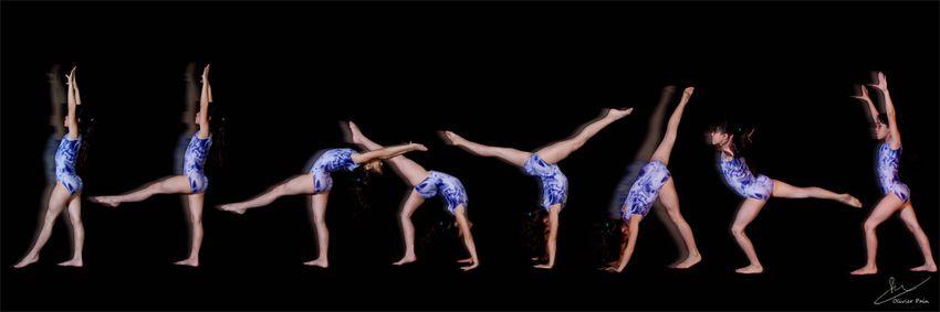 Décomposition du mouvement en gymnastique par olivier pain photographe a tours