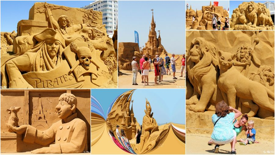 SCULPTURES SABLE OSTENDE